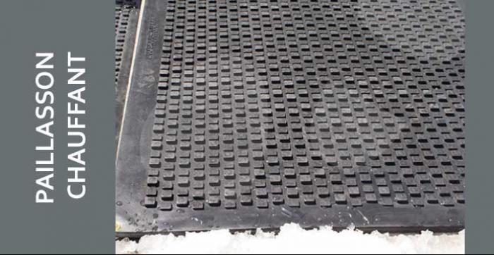 Les tapis chauffants garderont vos trottoirs, marches et entrées libres de toute neige ou glace, assurant ainsi un maximum de sécurité pour votre famille et vos amis.